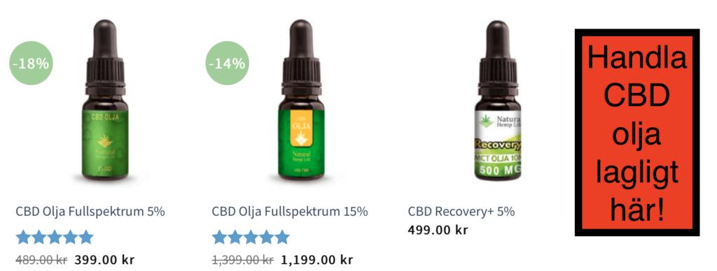 CBD olja positiva effekter