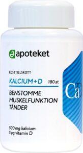 d vitamin + kalcium test