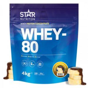 whey 80 protein pulver