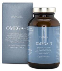 nordbo bästa omega3 olja