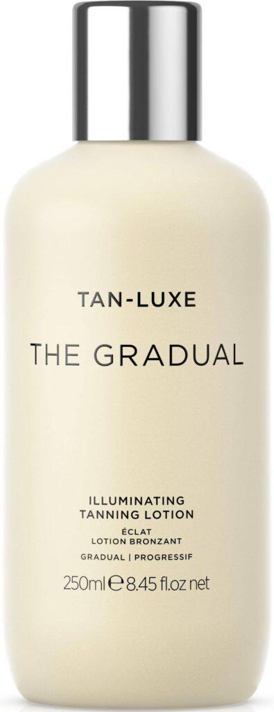 Tan Lux Gradient brun utan sol test