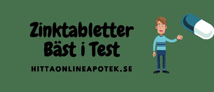 zinktabletter bäst i test 2021