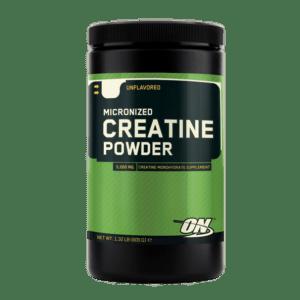 optimum nutrition kreatin test