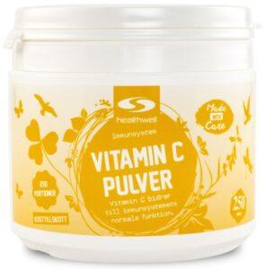 vitamin c pulver test