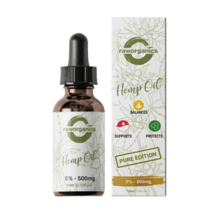 hampaolja raw organics
