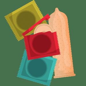 olika kondomer