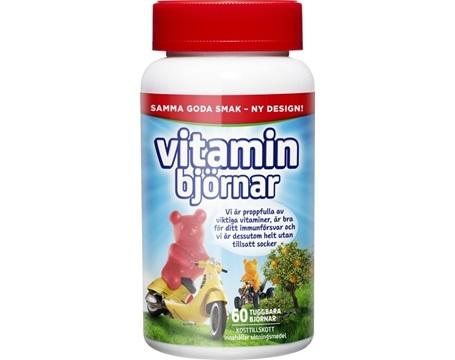 vitaminbjörnar- multivitamin för barn