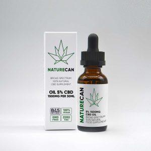 naturecan cbd olja 5%